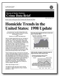 Homicide Trends in the United States : 1... by Fox, James Alan