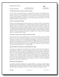 Offshore Platforms and Sustainable Fishe... by Government Printing Office