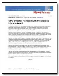 For Immediate Release : June 27, 2005 No... by Government Printing Office