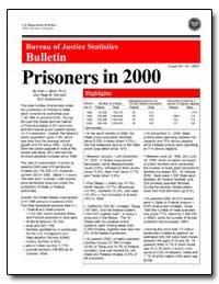 Bureau of Justice Statistics Bulletin : ... by Beck, Allen J.