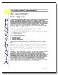 State Prevention Inventory - Pennsylvani... by Government Printing Office