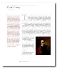 Patrick Henry by Government Printing Office