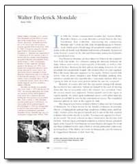 Walter Frederick Mondale by Government Printing Office