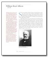 William Boyd Allison by Government Printing Office