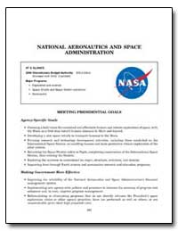 National Aeronautics and Space Administr... by Government Printing Office