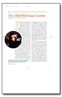 The 1996 Rma Essay Contest by Murray, Williamson