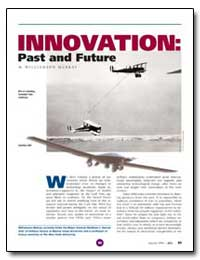 Innovation : Past and Future by Murray, Williamson
