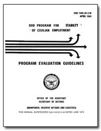 Program Evaluation Guidelines by Department of Defense