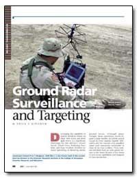 Ground Radar Surveillance and Targeting by Bingham, Price T.