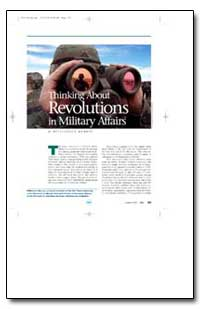 Thinking about Revolutions in Military A... by Murray, Williamson