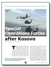 Special Operations Forces after Kosovo by Dunlap, Charles J., Jr.