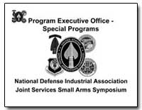 Program Executive Office: Special Progra... by Department of Defense