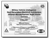 Military Vehicle Intelligence: Next Gene... by Kozera, Mitchell