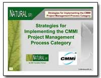 Strategies for Implementing the Cmmi Pro... by Department of Defense
