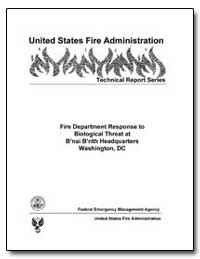 Fire Department Response to Biological T... by Stern, Jeff