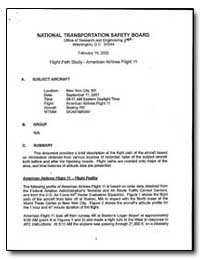 National Transportation Safety Board by Gregor, Joseph A.