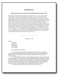 Minutes of the Nagy Governments Fourth C... by Department of National Security