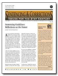 Sentencing Guidelines : Reflections on t... by Lubitz, Robin L.
