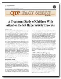 A Treatment Study of Children with Atten... by Stern, Karen R.