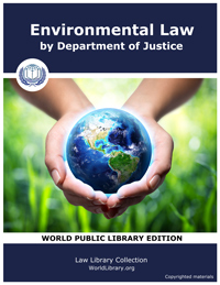 Environmental Law by Department of Justice