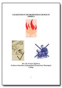 Catabaptism in the Presbyterian Church i... by Lee, Francis Nigel, Rev., Dr.