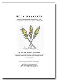 Holy Harvests by Lee, Francis Nigel, Rev., Dr.