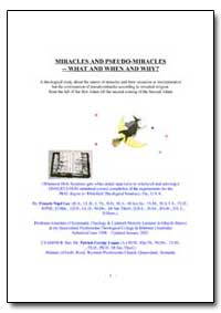 Miracles and Pseudo-Miracles -- What and... by Lee, Francis Nigel, Rev., Dr.