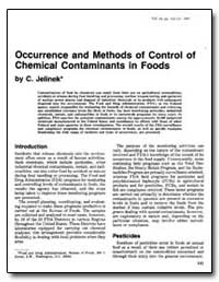 Occurrence and Methods of Control of Che... by Jelinek, C. F.