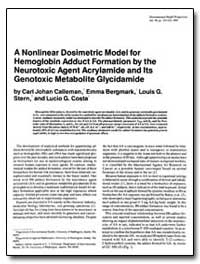 A Nonlinear Dosimetric Model for Hemoglo... by Bergmark, Emma