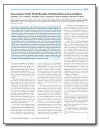Assessing the Public Health Benefits of ... by Levy, Jonathan I.