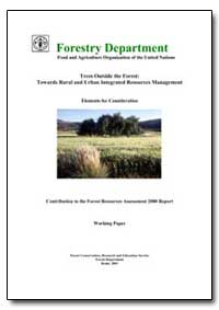 Forestry Department : Food and Agricultu... by Food and Agriculture Organization of the United Na...