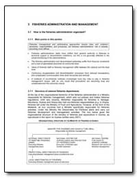 Fisheries Administration and Management by Food and Agriculture Organization of the United Na...