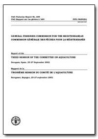 Third Session of the Committee on Aquacu... by Food and Agriculture Organization of the United Na...