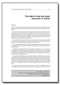 The State of Land and Water Resources in... by Food and Agriculture Organization of the United Na...
