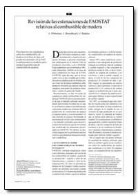 Revision de las Estimaciones de Faostat ... by Whiteman, A.