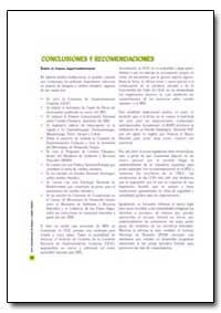Conclusiones Y Recomendaciones by Food and Agriculture Organization of the United Na...