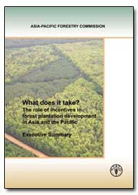 The Role of Incentives in Forest Plantat... by Enters, Thomas