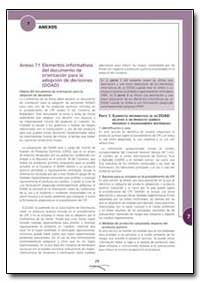Elementos Informativos Del Documento de ... by Food and Agriculture Organization of the United Na...