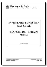 Inventaire Forestier National Manuel de ... by Food and Agriculture Organization of the United Na...
