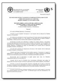 Decision Sobre la Aplicacion Del Articul... by Food and Agriculture Organization of the United Na...