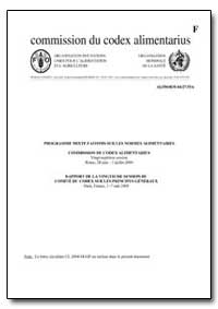 Rapport de la Vingtieme Session du Comit... by Food and Agriculture Organization of the United Na...