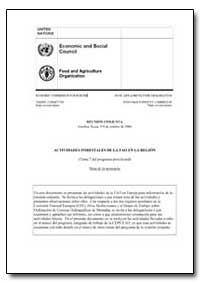 Actividades Forestales de la Fao en la R... by Food and Agriculture Organization of the United Na...