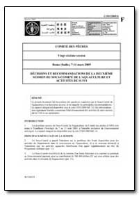 Decisions et Recommandations de la Deuxi... by Food and Agriculture Organization of the United Na...
