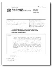 Triennial Comprehensive Policy Review of... by Food and Agriculture Organization of the United Na...