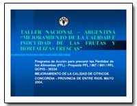 Taller Nacional Argentina Mejoramiento d... by Food and Agriculture Organization of the United Na...