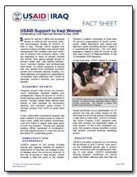 Usaid Support to Iraqi Women Celebrating... by International Development Agency