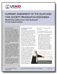 Summary Assessment of the Islam and Civi... by International Development Agency