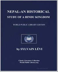 Nepal - An Historical Study of A Hindu K... by Lévi, Sylvain
