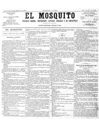 El Mosquito, April 1876 Volume Issue: April 1876 by Stein, Henri Frenchman