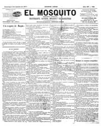 El Mosquito, August 1877 Volume Issue: August 1877 by Stein, Henri Frenchman
